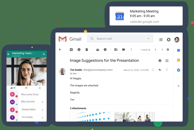 Google G Suite Communication